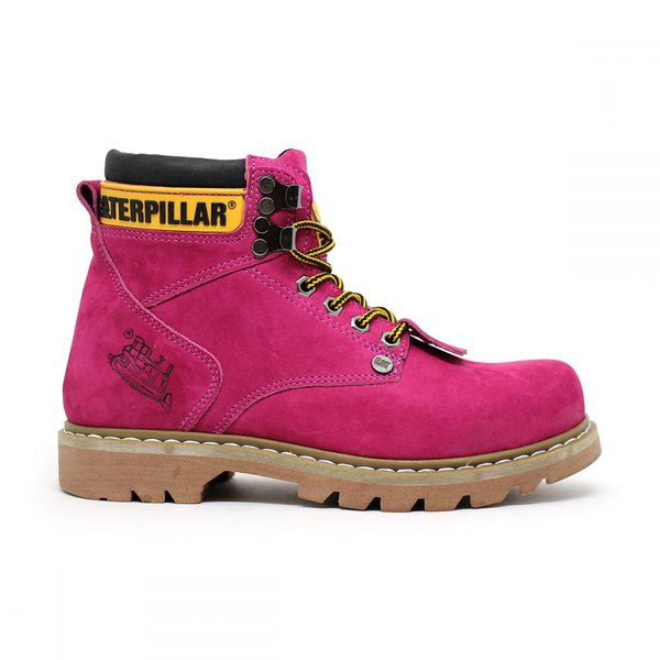 4037f7534c5a1 Bota Caterpillar Second Shift - Pink | JDKCALCADOS
