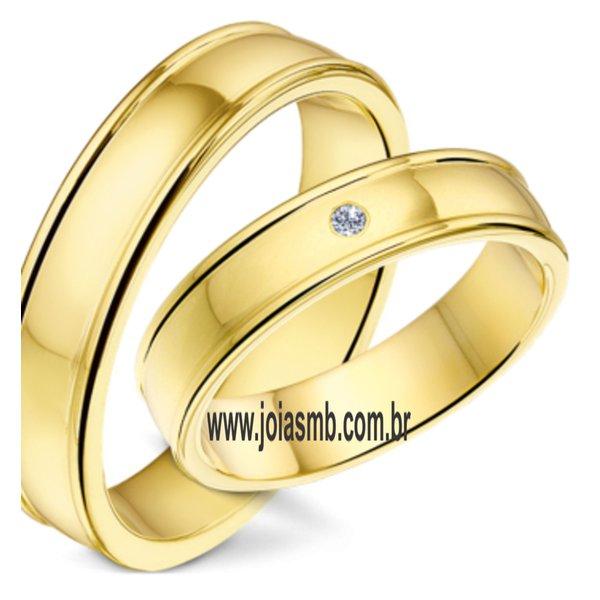 Alianças de Casamento Indiara