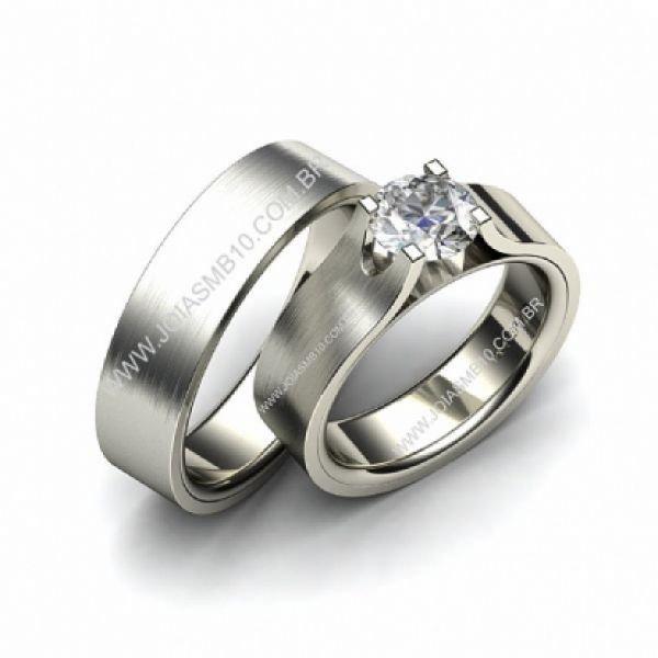 Alianças de Casamento 1,00 Quilates