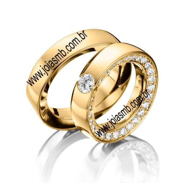 Alianças de Casamento Grifes Marcas Famosas