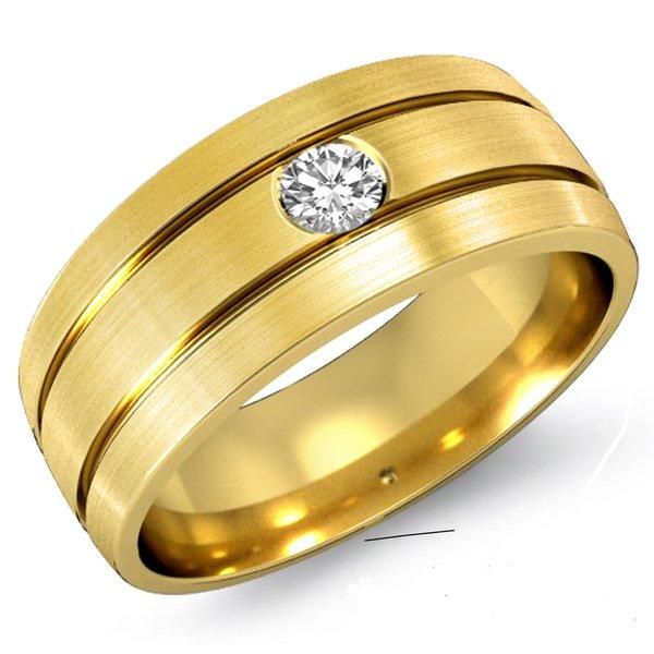 Anel de Ouro Masculino Taguatinga