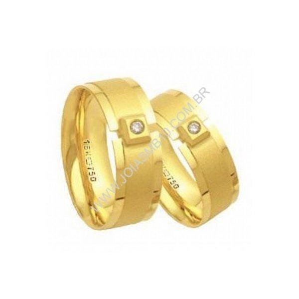 Alianças de Casamento Diamantes