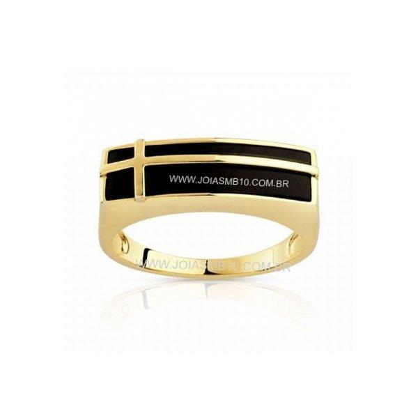 Anel de Ouro Masculino Dourados