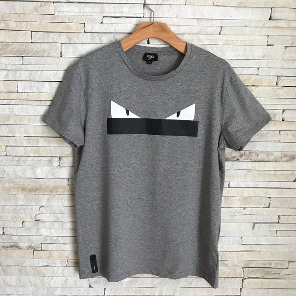 T-Shirt Fendi Cinza
