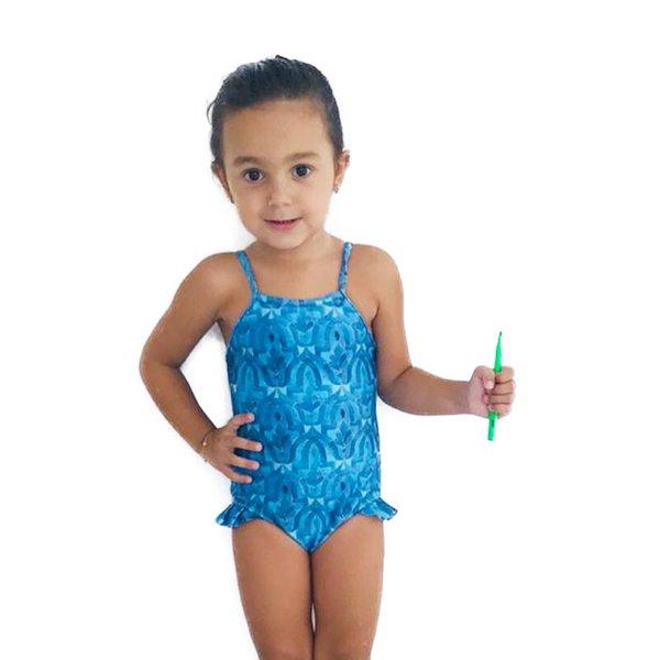 Azulejo Marroquino - Maiô Infantil