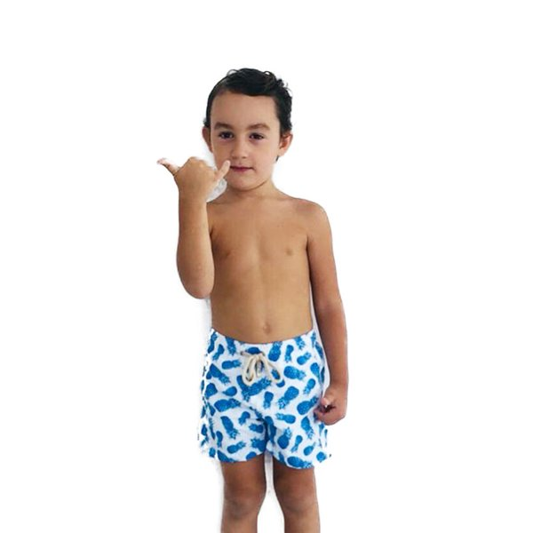 Abacaxi Azul - Shorts Infantil