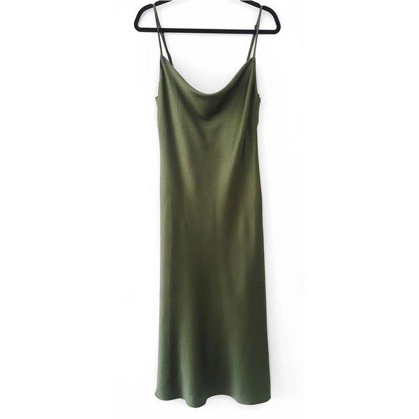 Colors - Sleep Dress Verde Militar