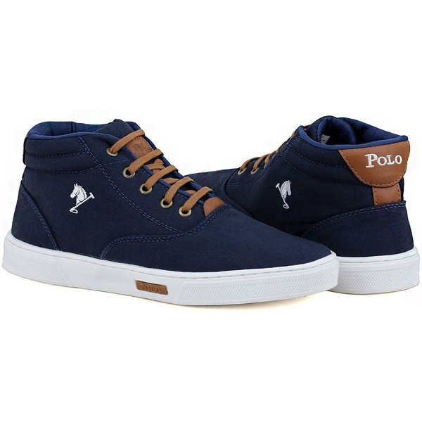 a022638848 Bota Masculina Polo Joy Azul Marinho | Líder Shoes