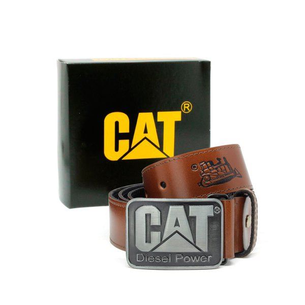 Cinto Couro Caterpillar - Pull up