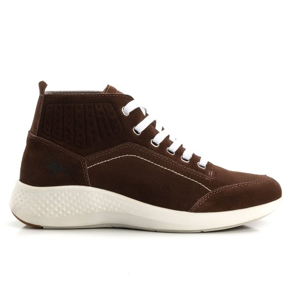 Tênis Jhon Boots Yeezy Sneakers Casual - Marrom