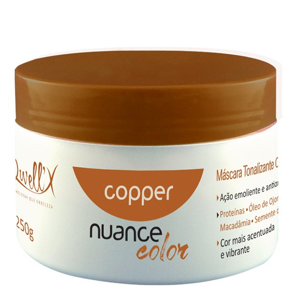 Máscara Tonalizante Copper Nuance Color 250g