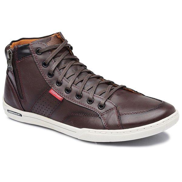 708fe64e6 Sapatênis Masculino em Couro Gogowear Enzo Bordo   Loja Gogowear