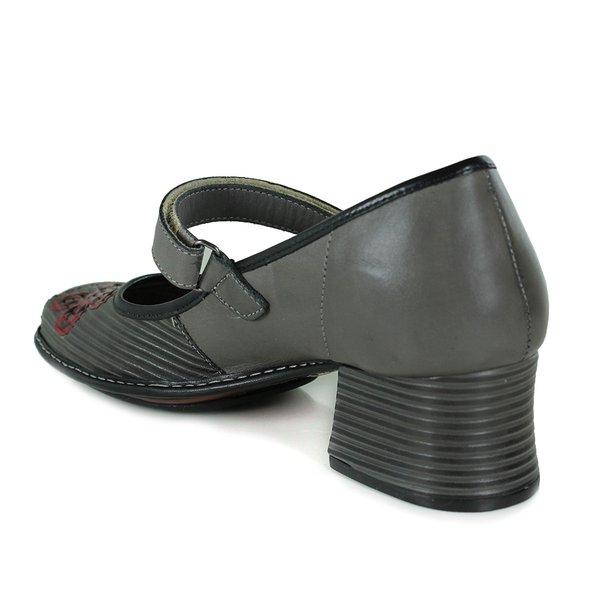 cc5cd2643 Sapato Em Couro New kelly Cannon J.Gean | J.Gean