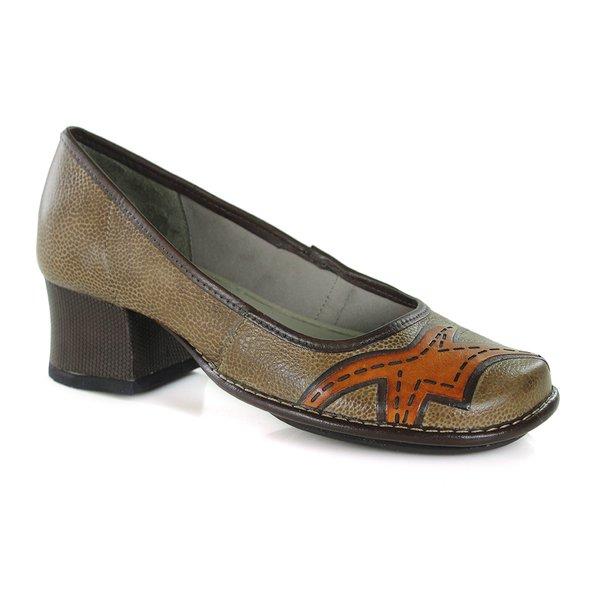 64e2d2985 Sapato New Kelly Ocre Em Couro J.Gean | J.Gean