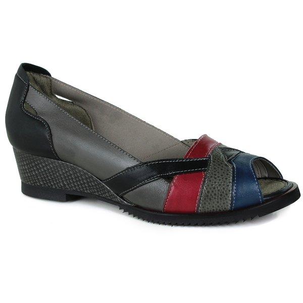 Sandália Em Couro Susan Cannon J.Gean