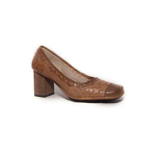 Sapato Em Couro Galeany Alto Suede J.Gean
