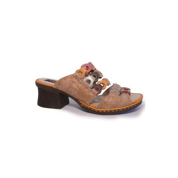 Sandália em Couro Marjorie Suede J.Gean BL0019-02