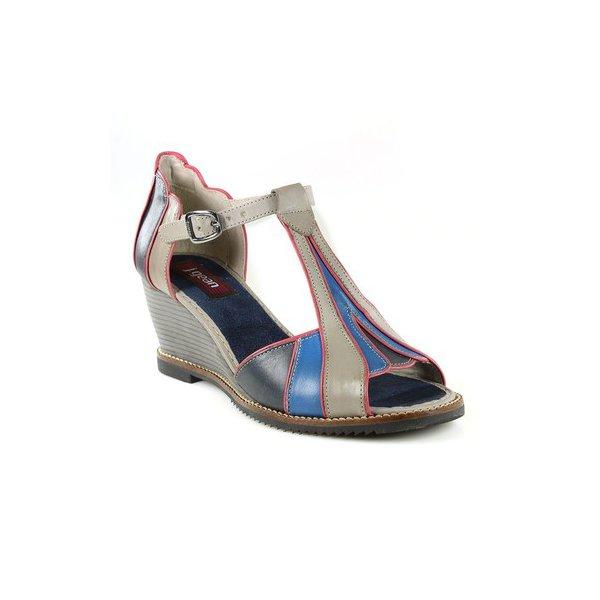 Sandália Em Couro Susan Anabela Eiffel J.Gean BM0016/02