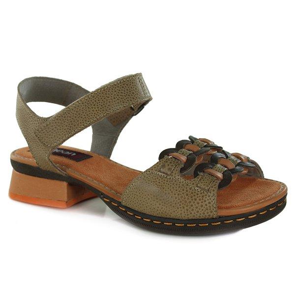 Sandália Em Couro Emily Pele J.Gean BO0003-02