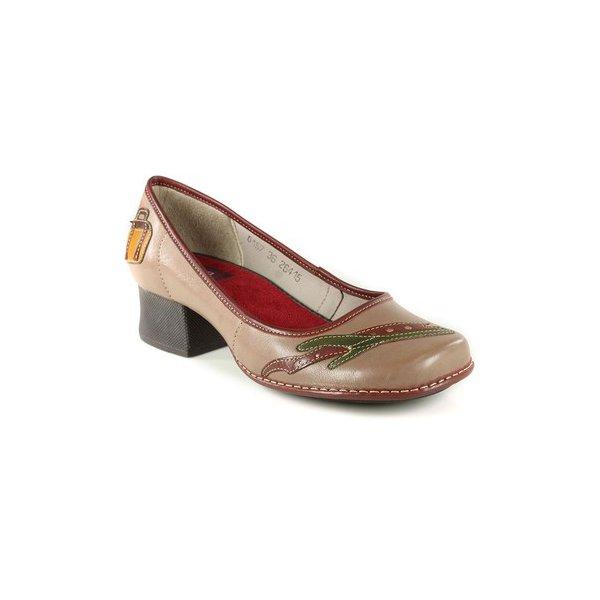 Sapato Em Couro New Kelly Cortiça J.Gean