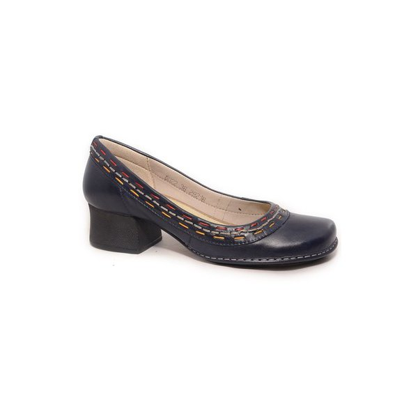 Sapato Em Couro New Kelly Blue J.Gean