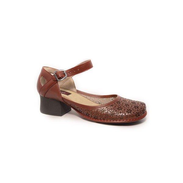 ae2bc7fa0 Sapato Em Couro New kelly Vermelho j.Gean | J.Gean