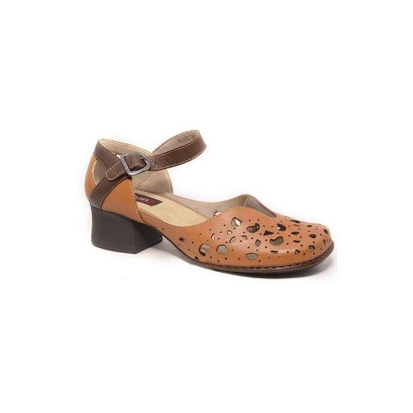 9f9d20654c Sapato Em Couro New kelly Tamara J.Gean