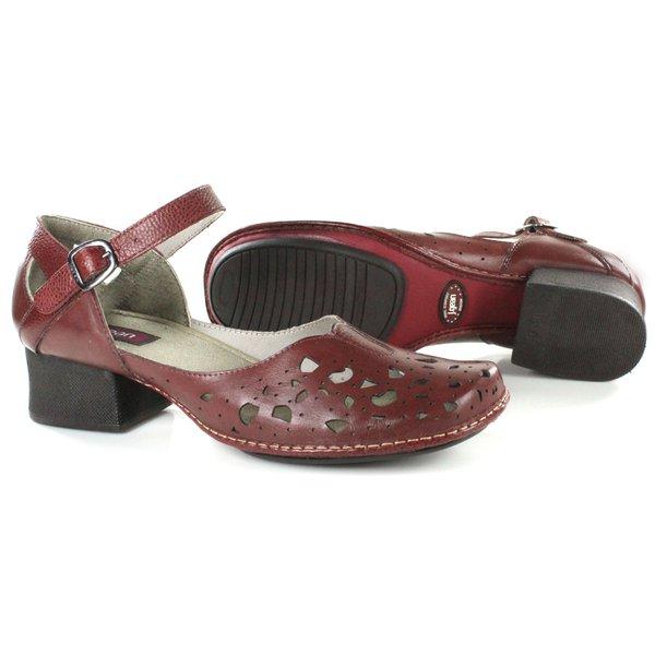 905176b166 Sapato Em Couro New kelly Vermelho J.Gean
