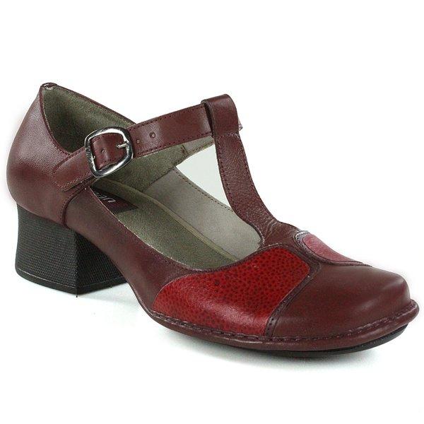 833ce55ae Sapato Em Couro New Kelly Vermelho J.Gean | J.Gean