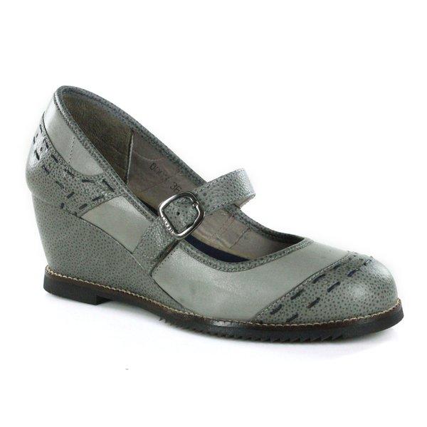 Sapato em Couro Susan Anabela Alto Cromo J.Gean CZ0003-03