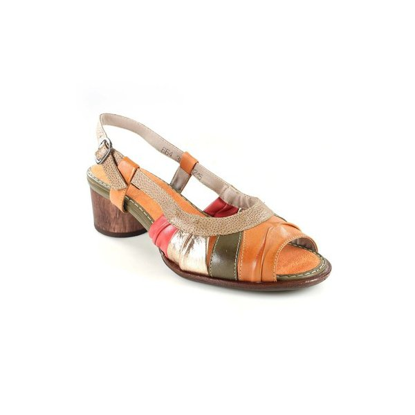 Sandália Em Couro Lolla Baixa Citrus J.Gean BG0015-01