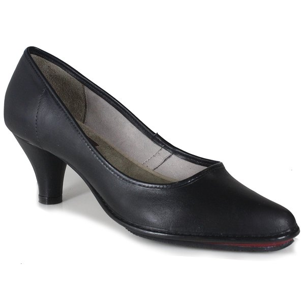 Sapato Scarpin em Couro Loren Preto J.Gean DJ0004-04