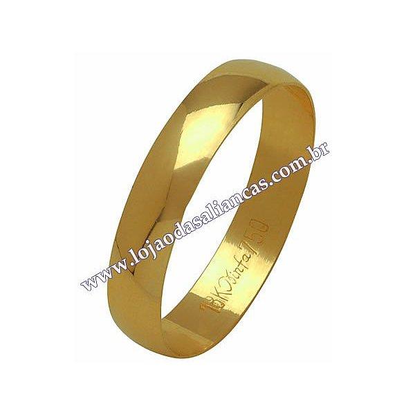 Aliança em Ouro 18K 750