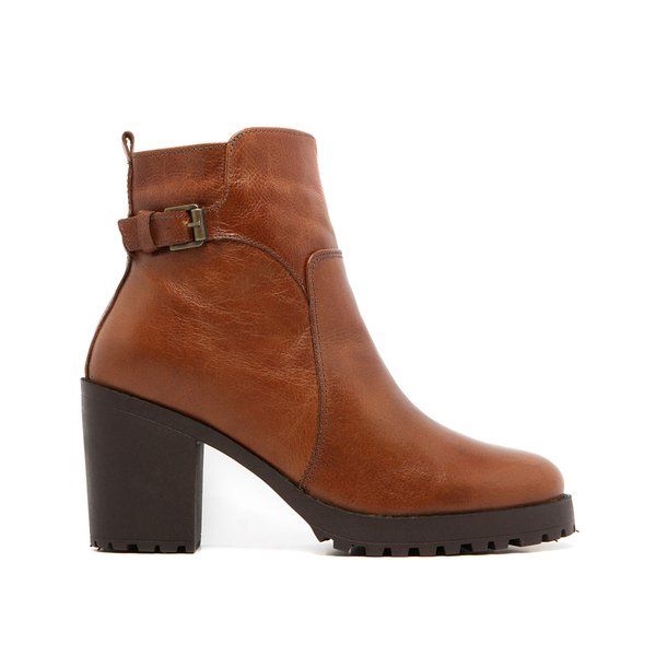 Bota Feminina Quebec Houston Camel