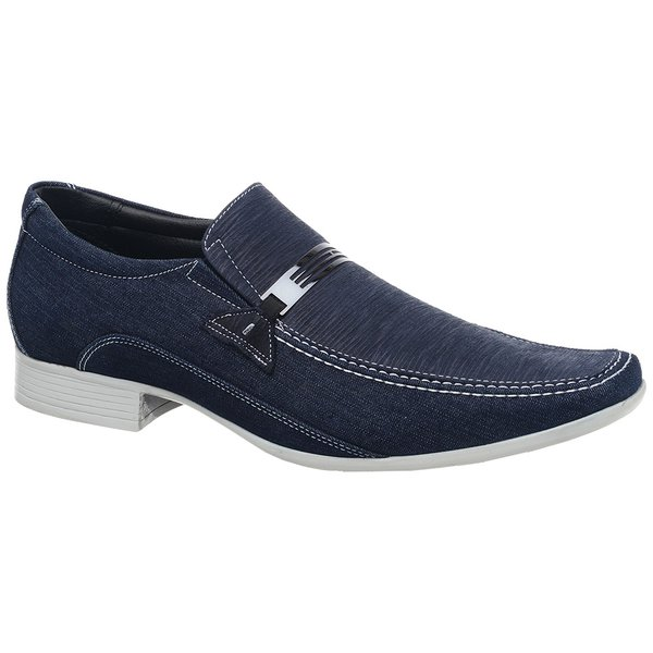 Sapato Casual Jota Pe Jeans/Fogli Marinho