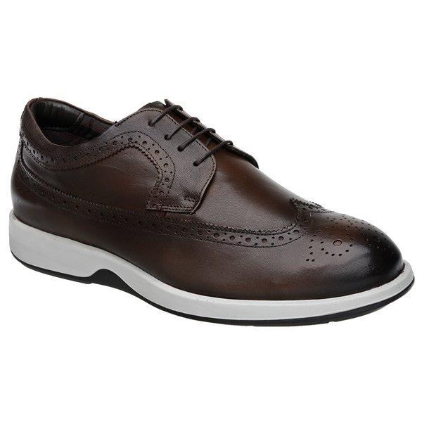 3e40ce51bf Sapato Casual Oxford Jota Pe Marrom Air Kingston