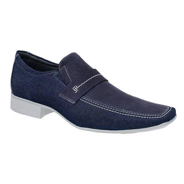 Sapato Casual Jota Pe Jeans Marinho Air Jeans