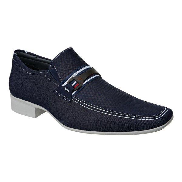 Sapato Casual Jota Pe Jeans Marinho Air