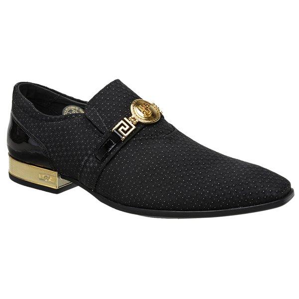 Sapato Social Jota Pe Preto Montblanc Gold