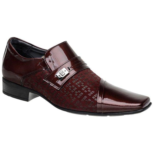 Sapato Social Jota Pe Vinho Air Prince
