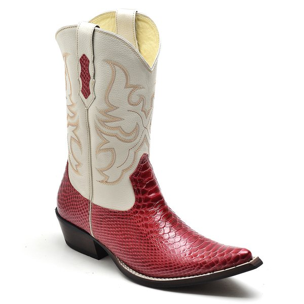 Bota Texana Red