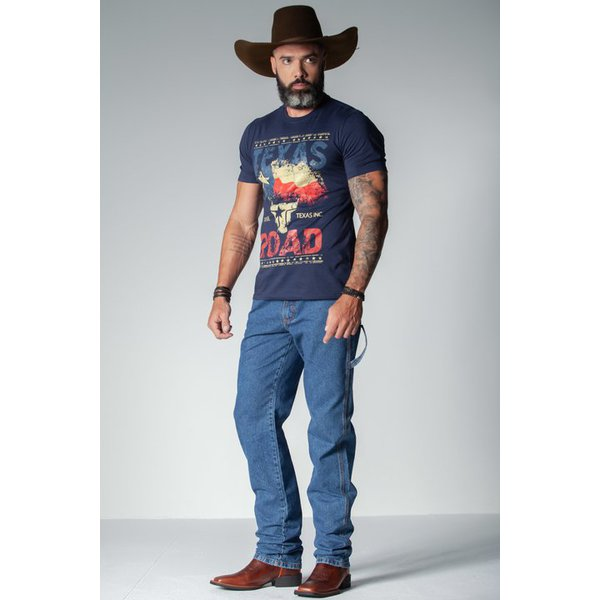 Camiseta Masculina Marinho The True Texas