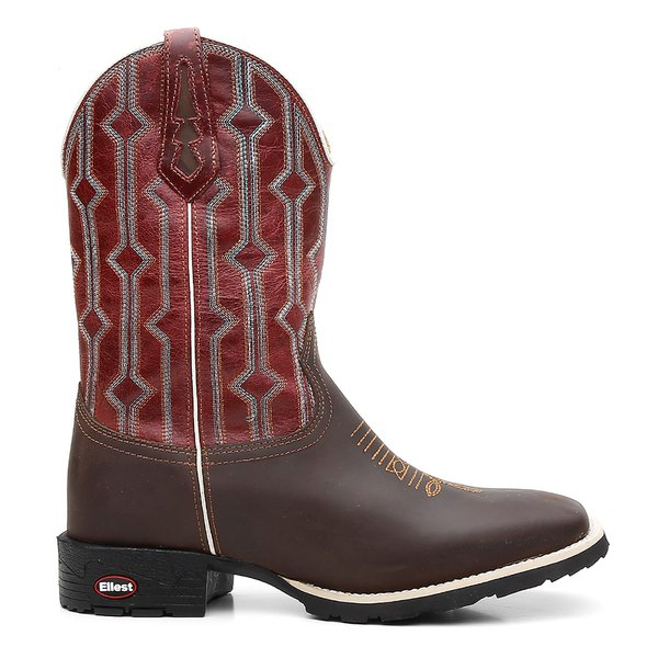 5f8fee2ade Bota Texana Red Grid | 7M Boots | 7MBOOTS