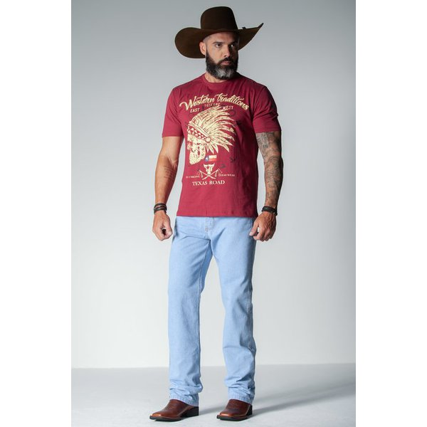 Camiseta Masculina Mal Beck Western Traditions