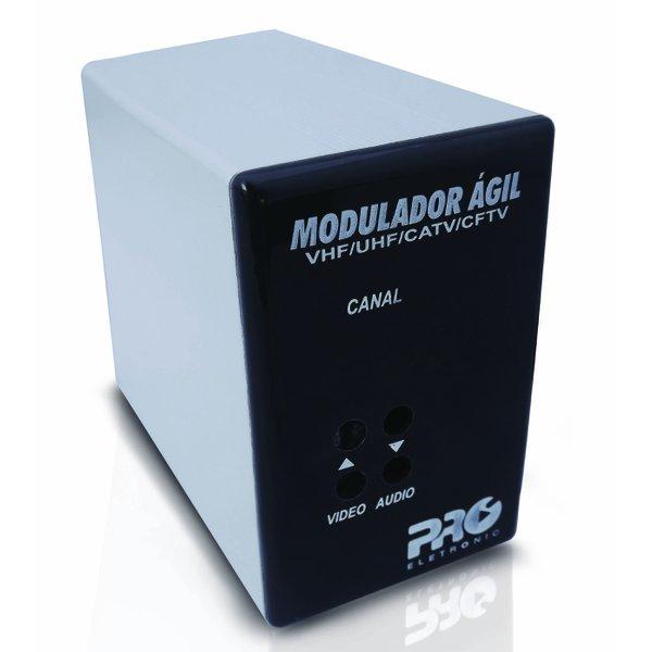 Modulador Ágil VHF / UHF / CATV / CFTV