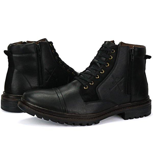 Sapato Coturno Masculino