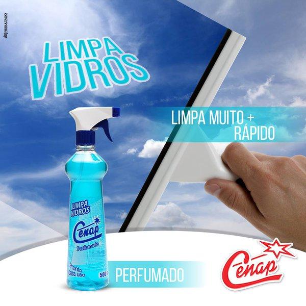 LIMPA VIDROS COM GATILHO CENAP 500ML