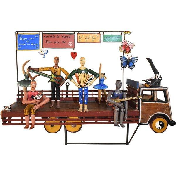 Caminhão com Músicos e Bailarinas - TOTI