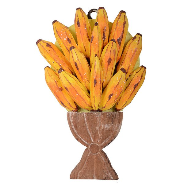 Painel Pequeno de Ânfora com Bananas