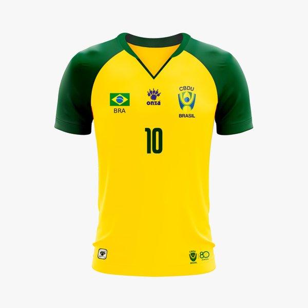 Camisa Futebol UBRASIL CBDU 2019